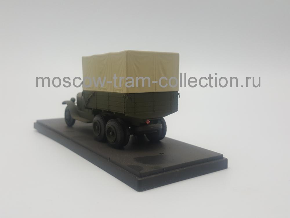 Коллекционная масштабная модель 1:43 Зис 6 тент