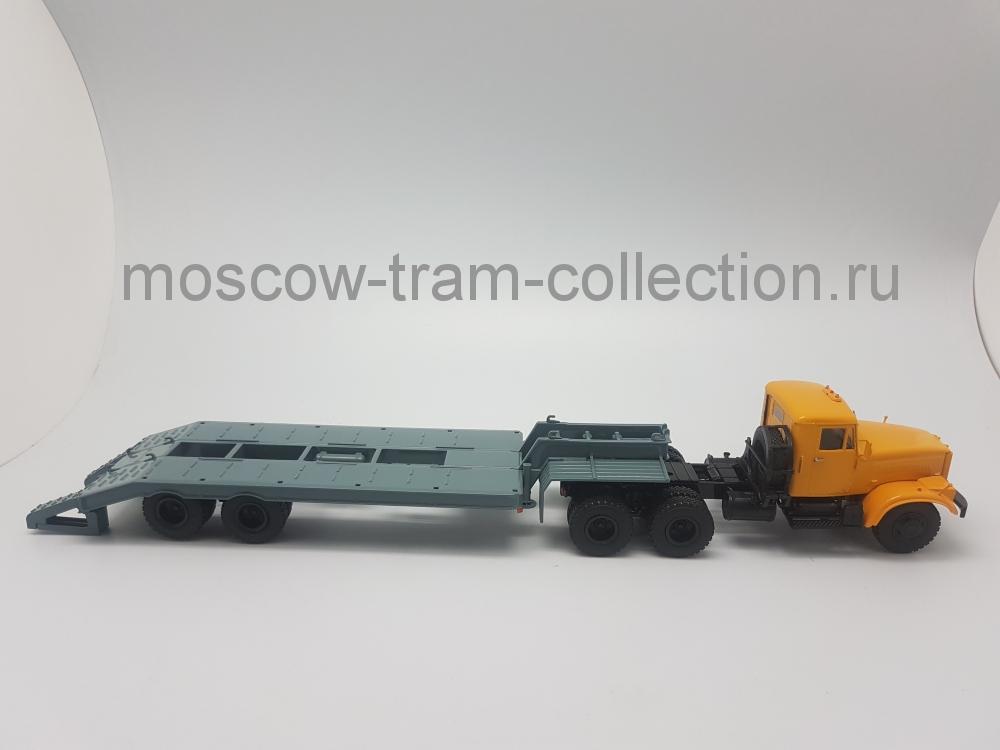 Коллекционная масштабная модель 1:43 Краз 258 с п/п ЧМЗАП-5523