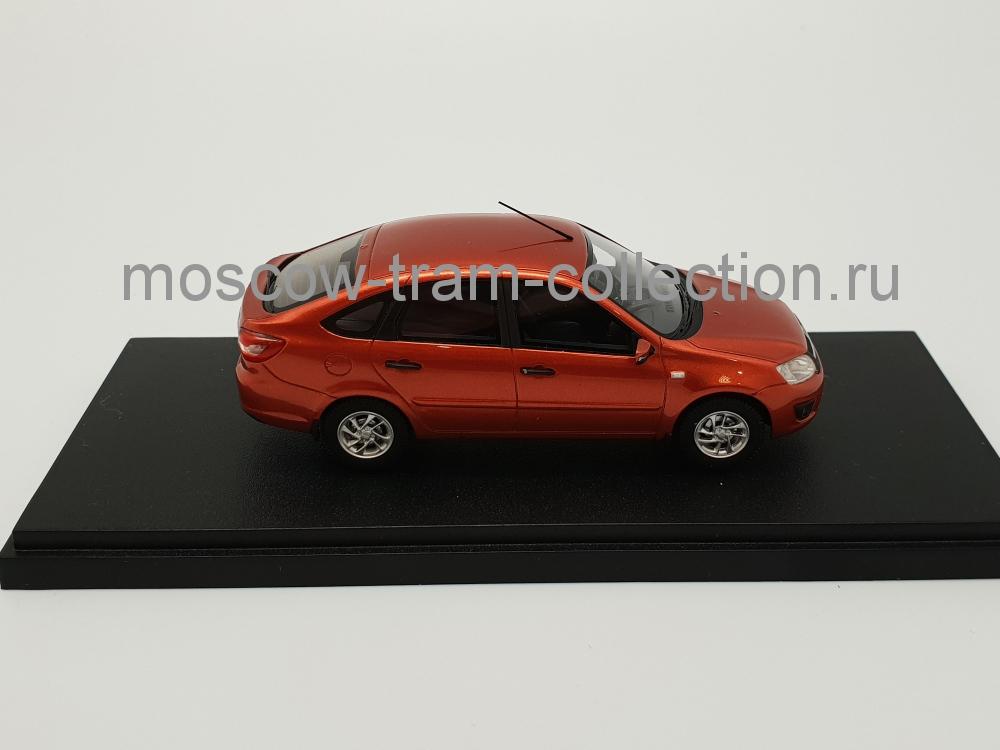 Коллекционная масштабная модель 1:43 Лада Гранта 2191 2014 оранж.