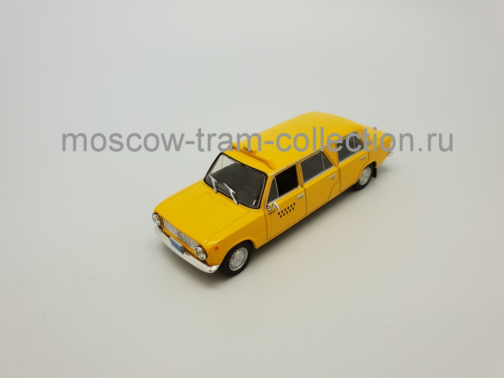 Коллекционная масштабная модель 1:43 Выпуск №201 Lada 1200 Limo