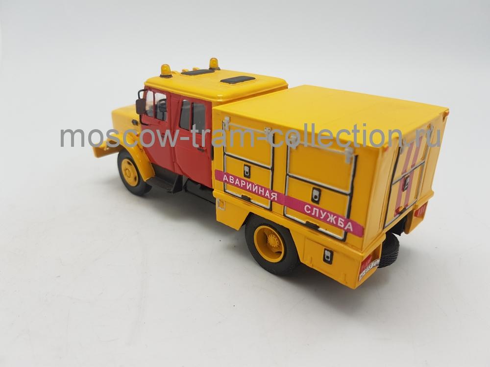 Масштабная коллекционная модель ЗиЛ 4333 мастерская