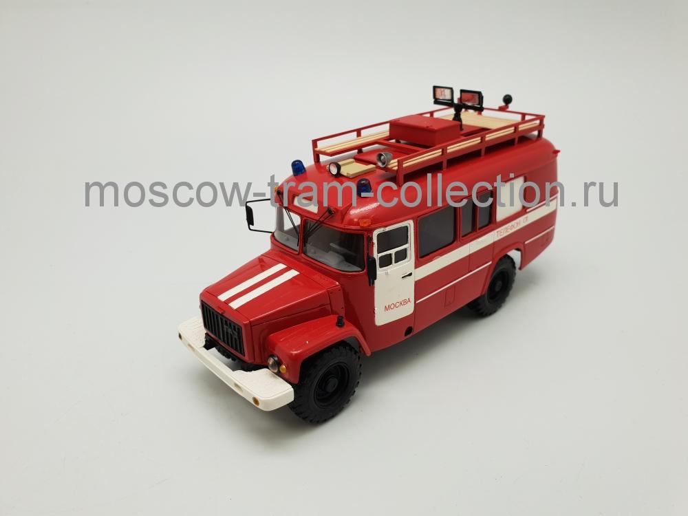 Коллекционная масштабная модель 1:43 КАвЗ 3308 АСО-20