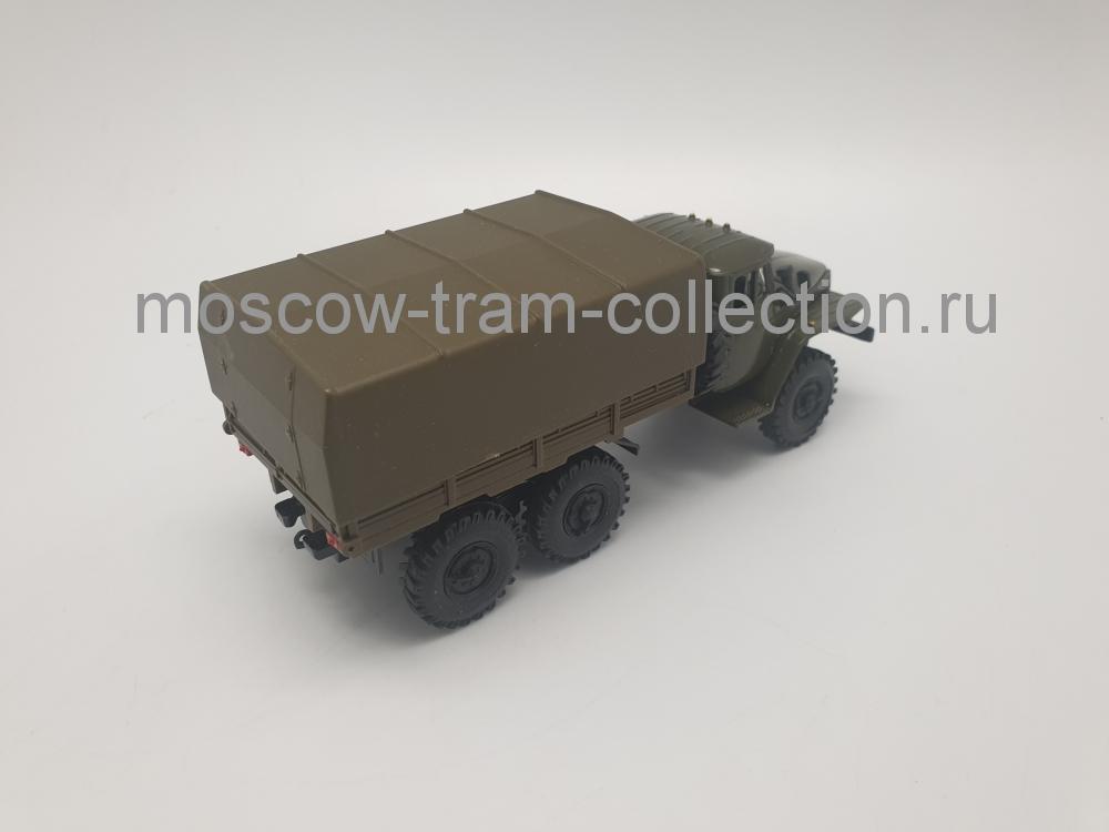Коллекционная масштабная модель 1:43 УРАЛ-4320