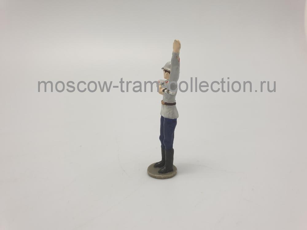 Коллекционная масштабная модель 1:43 Фигурка регулировщик арт024