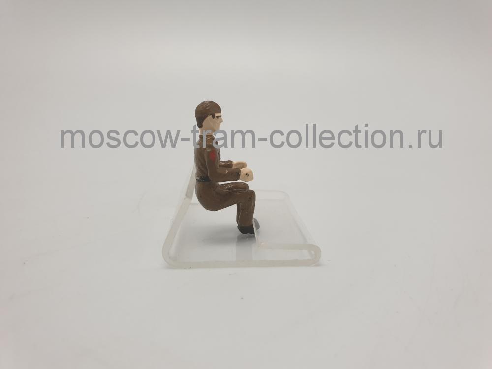 Коллекционная масштабная модель 1:43 Фигурка военный арт031