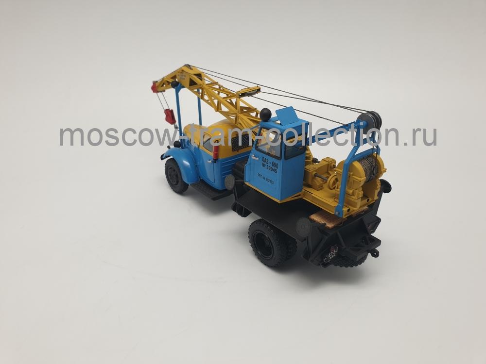 Коллекционные масштабные модели ЛАЗ-690 на шасси ЗИЛ-164А