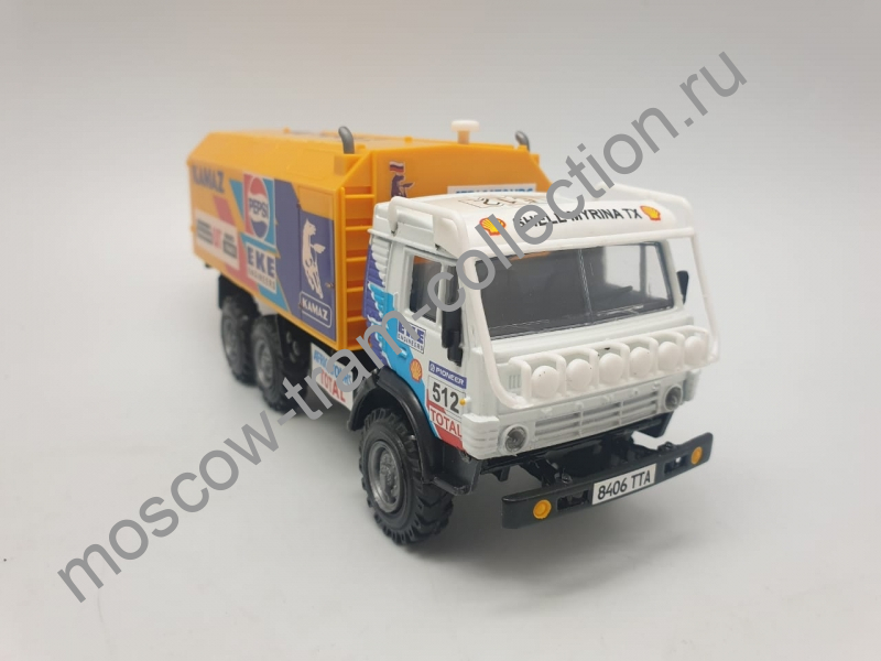 """Коллекционная масштабная модель 1:43 КАМАЗ-4310 """"Ралли"""""""