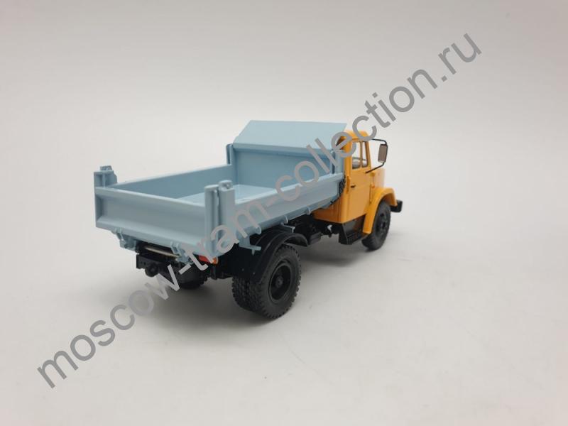 Коллекционная масштабная модель 1:43 Легендарные грузовики СССР №38, ЗИЛ-ММЗ-4508