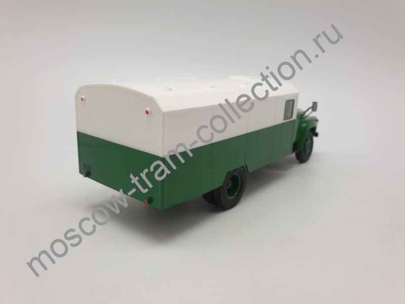 Коллекционная масштабная модель 1:43 Легендарные грузовики СССР №37, ЗИЛ-130Г-АЗ