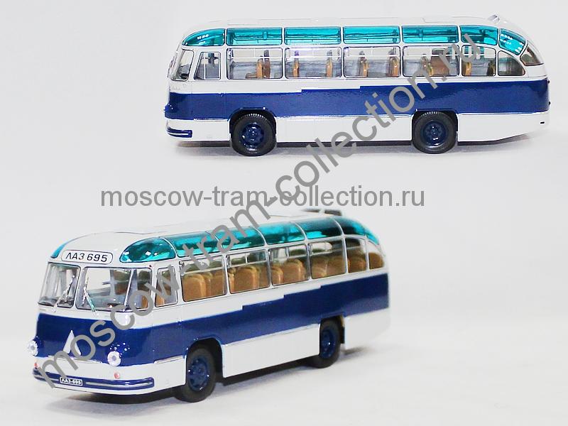 Масштабная коллекционная модель ЛАЗ 695 Б