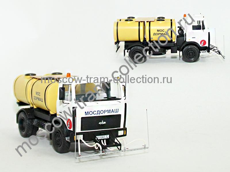 Коллекционные масштабные модели Маз 5551 КУМ 101
