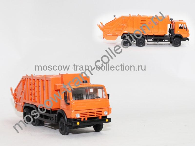 Коллекционные масштабные модели Камаз мусоровоз