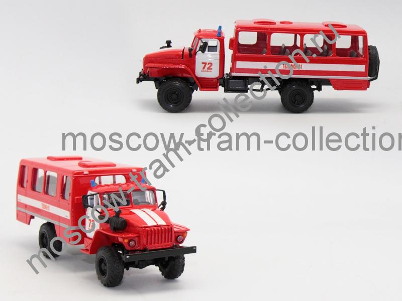 Коллекционная масштабная модель 1:43 Урал 34206 нефаз 43116
