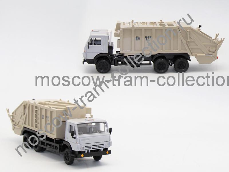Коллекционная масштабная модель 1:43 Камаз 53212 КО-427 16 куб