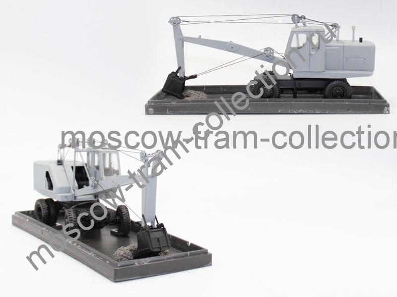 Коллекционная масштабная модель 1:43 Э-302, серый
