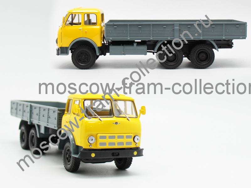Коллекционная масштабная модель 1:43 Маз 514 желто/синяя