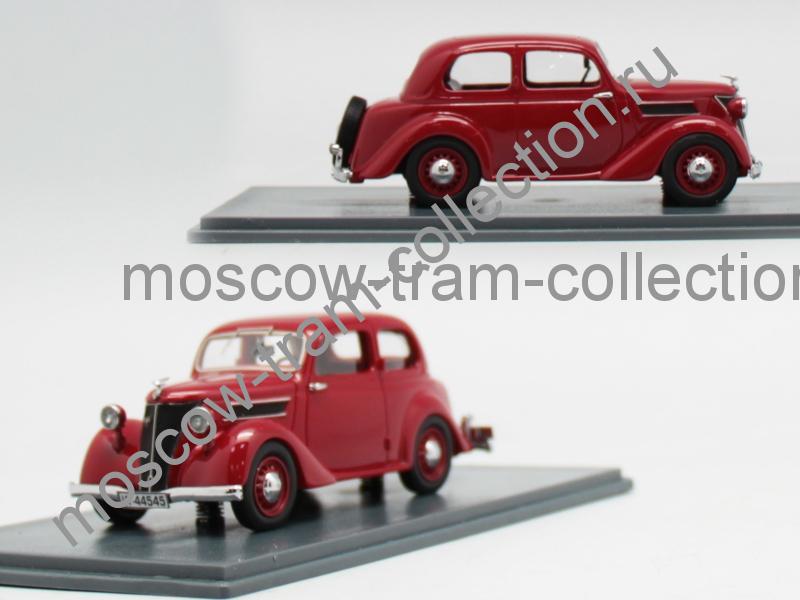 Коллекционная масштабная модель 1:43 Ford Eifel