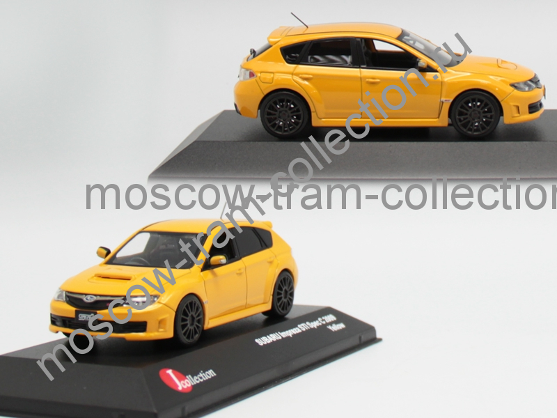 Коллекционная масштабная модель 1:43 Subaru Impreza WRX STI Spec C version 2009