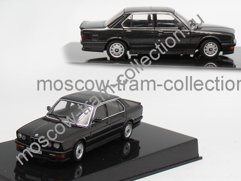 Коллекционные масштабные модели BMW M535i black