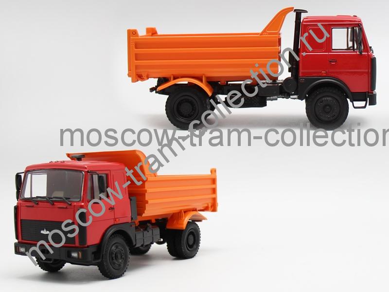 Коллекционные масштабные модели Маз 55514-023 самосвал