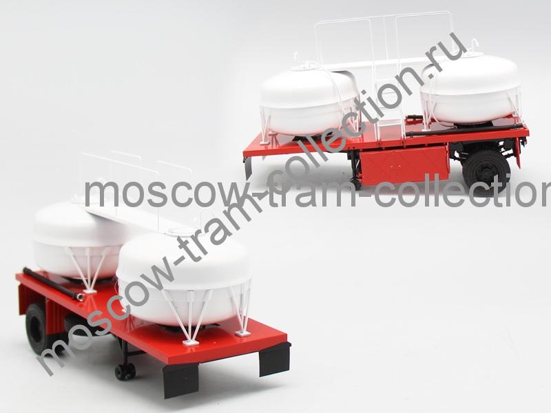Коллекционная масштабная модель 1:43 ГКБ-9653-01 красная