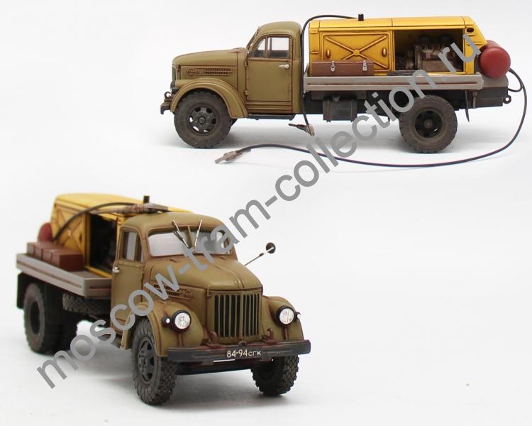 Коллекционная масштабная модель 1:43 Урал-Зис 355М БКСМ-4