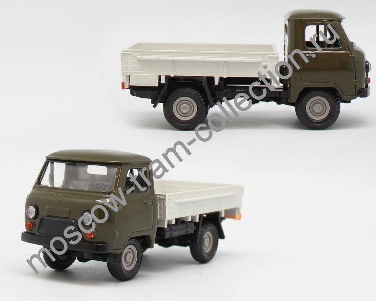 Коллекционная масштабная модель 1:43 УАЗ-452 (Кабина металл)