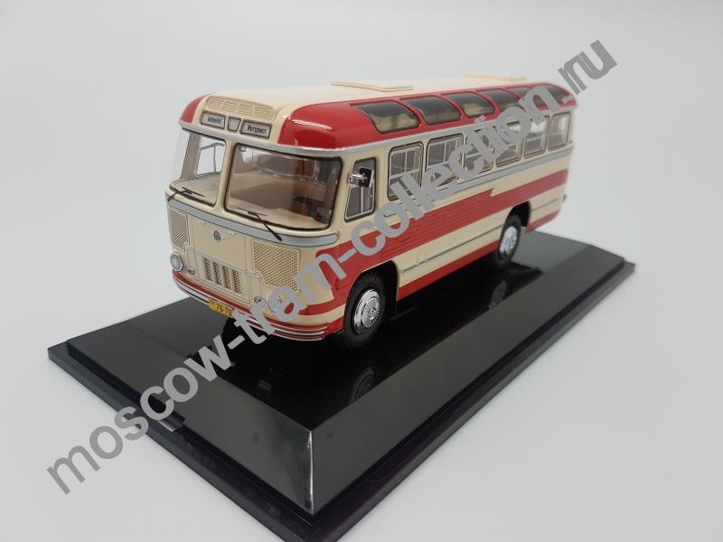 """Коллекционная масштабная модель 1:43 Паз 652 1960 г., маршрут """"Одесса - Заказной"""""""