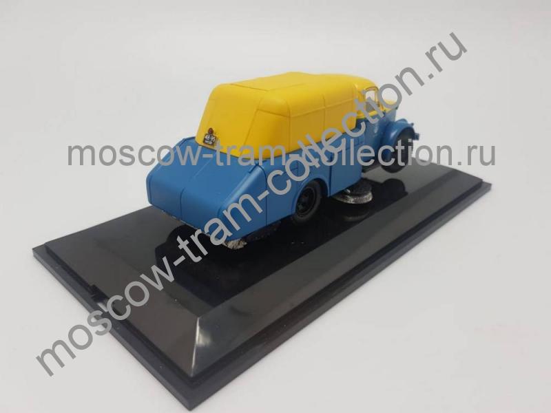 Коллекционная масштабная модель 1:43 51А подметально-уборочная машина ПУ-20