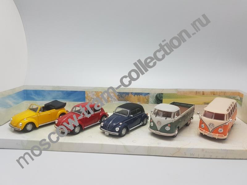 Коллекционная масштабная модель 1:43 Volkswagen