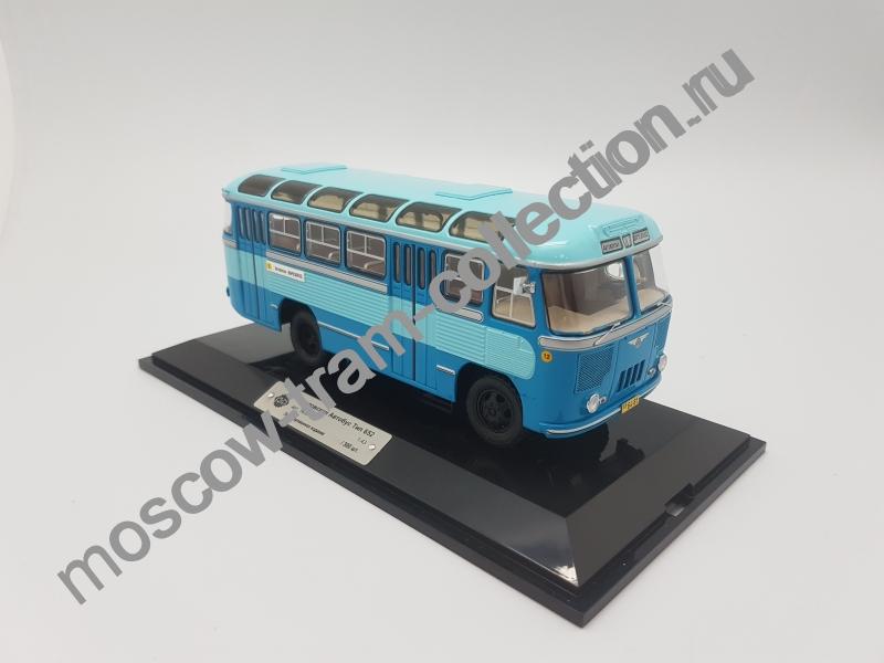 "Коллекционная масштабная модель 1:43 Паз 652 ""Ташкент"" 1960"