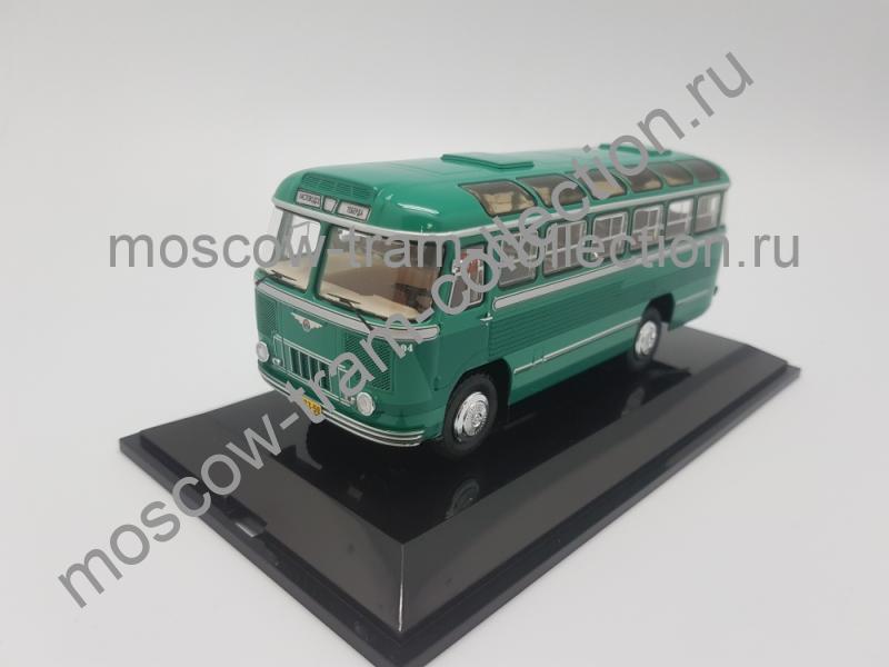 Коллекционная масштабная модель 1:43 Паз 652 Кисловодск 1958