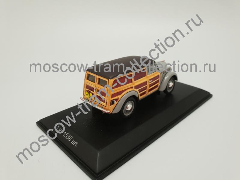 Масштабная коллекционная модель Москвич 401-422