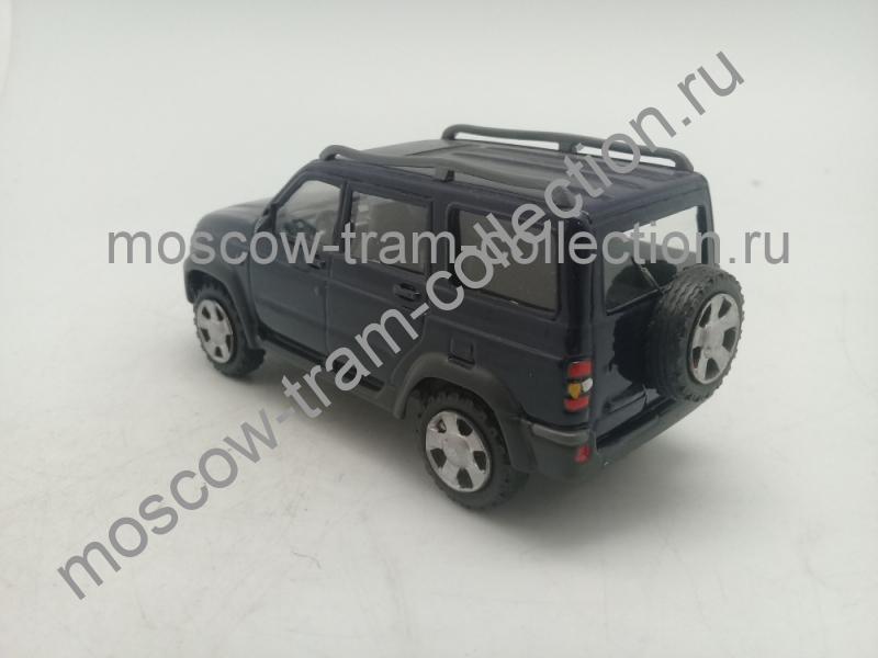 "Коллекционная масштабная модель 1:43 Уаз 3162М ""Симбир"" темно-синий"