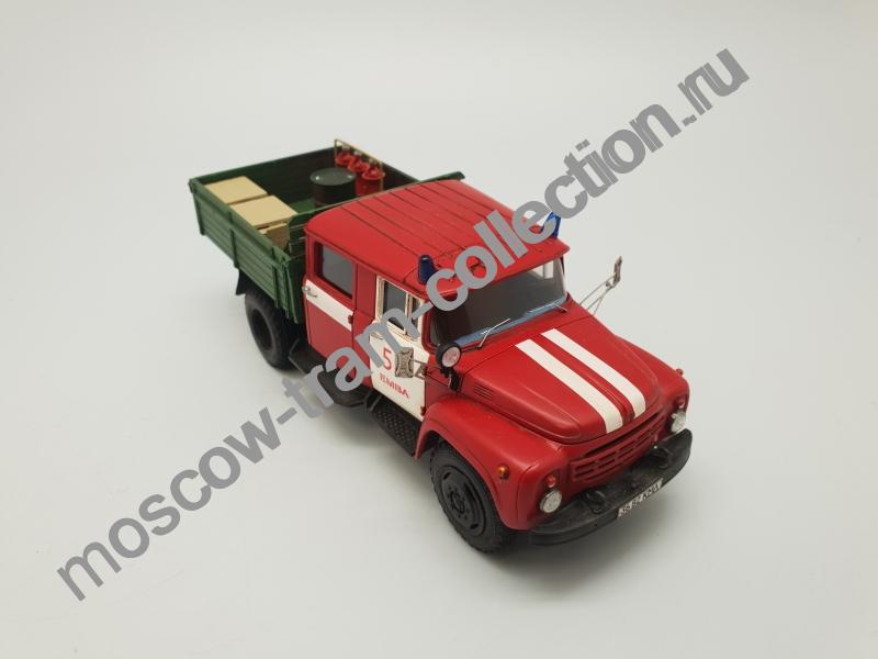 Коллекционная масштабная модель 1:43 ЗИЛ-130 АЦ-40 63Б Боровичи