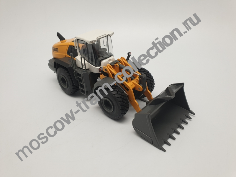 Коллекционная масштабная модель 1:43 LIEBXERR L586 Radlader Wheel loader Chargeuse sur pneus