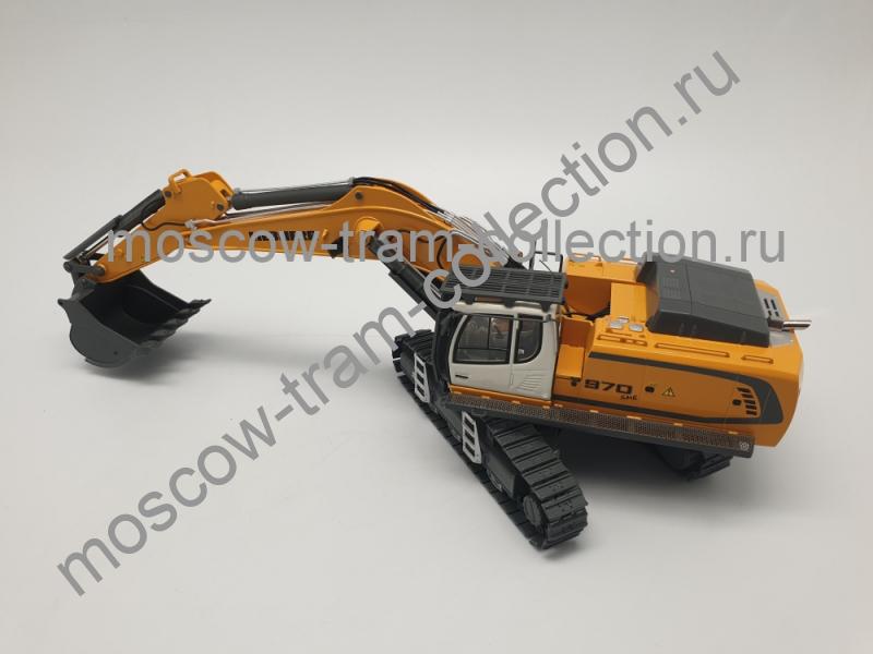 Коллекционная масштабная модель 1:43 LIEBHERR L970 SME Hydraulikbagger Hydraulic Excavator