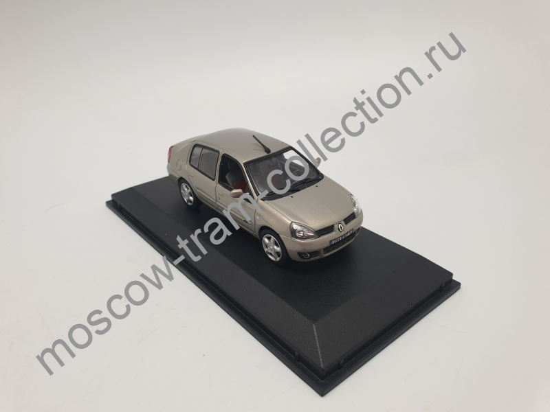 Коллекционная масштабная модель 1:43 Renault Clio Symbol