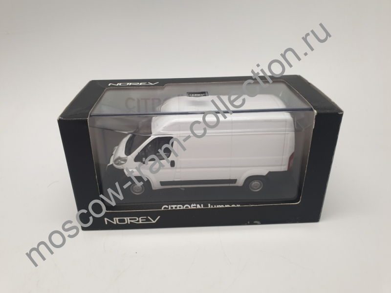 Коллекционная масштабная модель 1:43 Citroen Jumper white