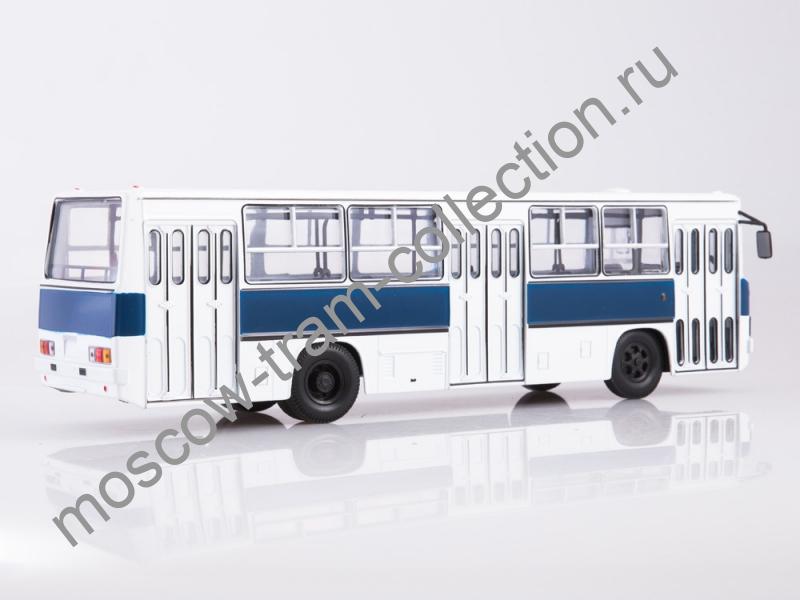 Коллекционная масштабная модель 1:43 Ikarus-260 бело-синий