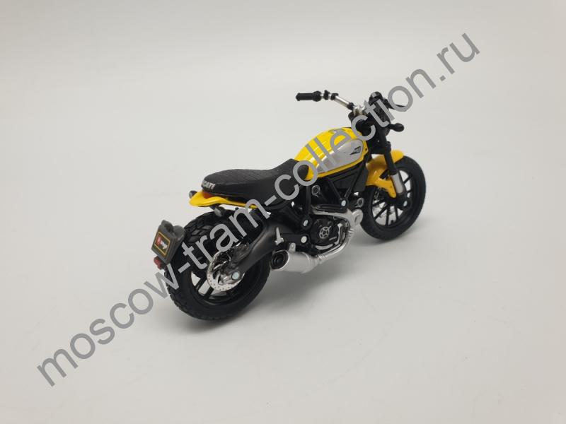 Коллекционная масштабная модель 1:43 Ducati icon Scambler