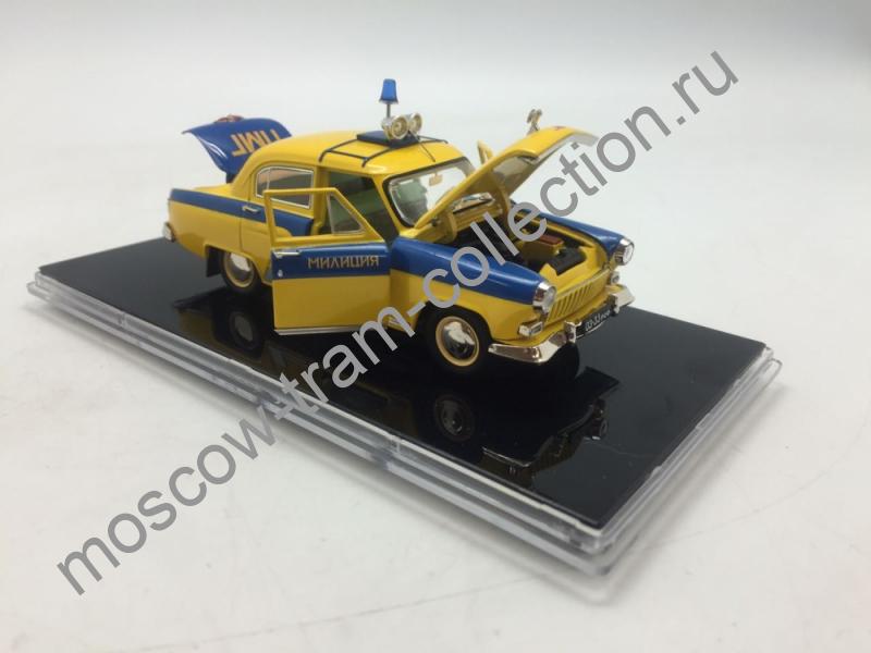 Коллекционная масштабная модель 1:43 Комплект 7 моделей ГАЗ М-21 Милиция