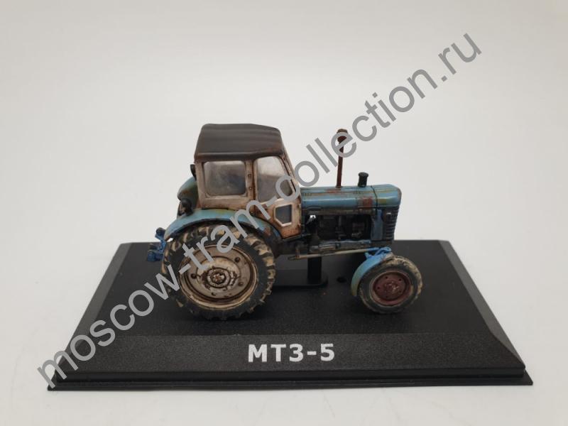 Коллекционная масштабная модель 1:43 МТЗ-5