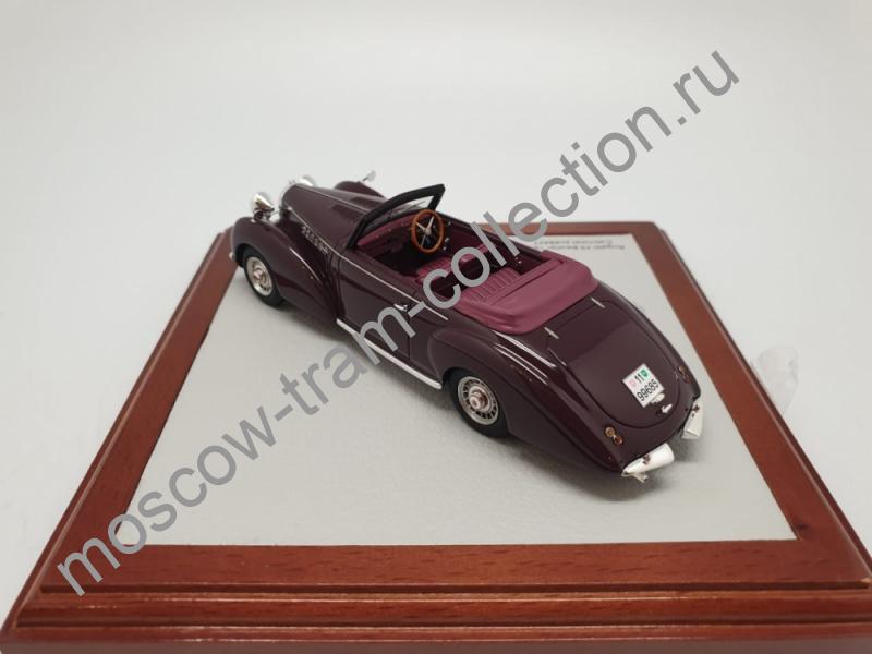 Коллекционная масштабная модель 1:43 Bugatti Cabriolet Beutler 1931 Autual open car