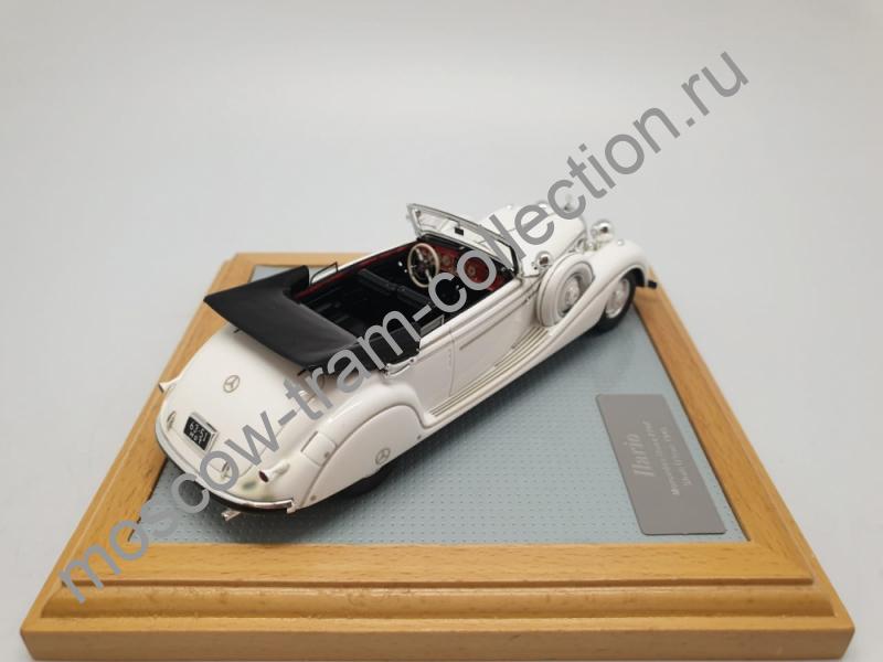 Коллекционная масштабная модель 1:43 Mercedes-Benz 770K 150W Cabriolet B Shah D'Iran 1940
