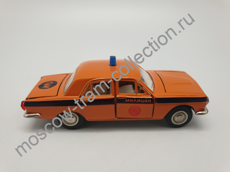 Коллекционная масштабная модель 1:43 Горьковский автомобиль 2401 Милиция