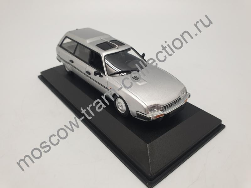 Коллекционная масштабная модель 1:43 Citroen CX Break1980 silver