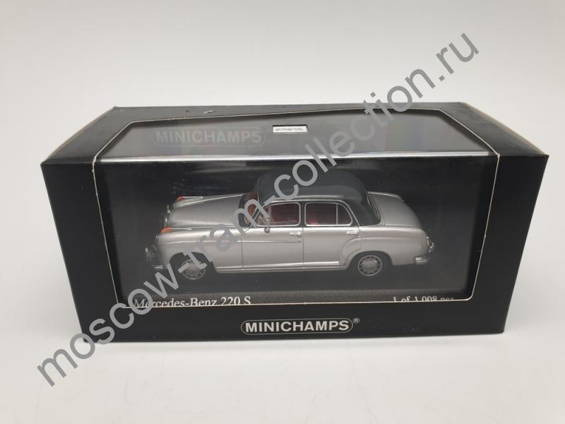 Коллекционная масштабная модель 1:43 Mercedes-Benz 220 S (W180)