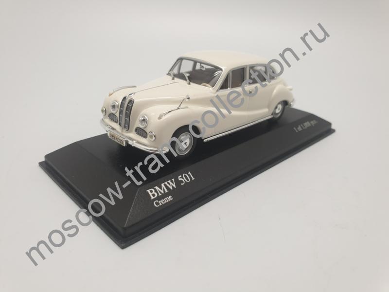 Коллекционная масштабная модель 1:43 BMW 501 1953
