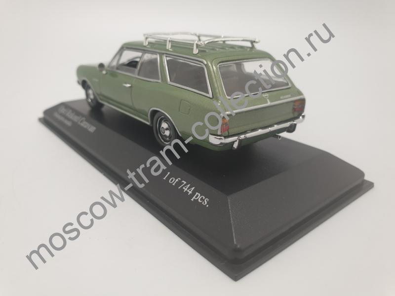 Коллекционная масштабная модель 1:43 Opel Rekord C 1966-71